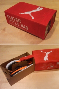 "Puma's ""clever little bag"""